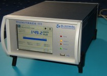Our Analyzer for the determination of trace humidity is for mobile use